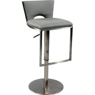 Adjustable Height Swivel Bar Stool