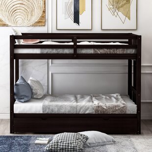 Hedon Twin Bunk Bed with Trundle