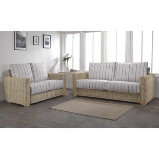 Dizon 2 Piece Conservatory Sofa Set By Beachcrest Home