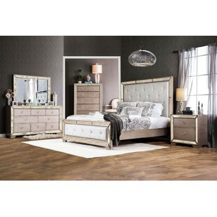 Alysa Panel Configurable Bedroom Set