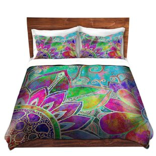 DiaNoche Designs Jubilant Duvet Cover Set