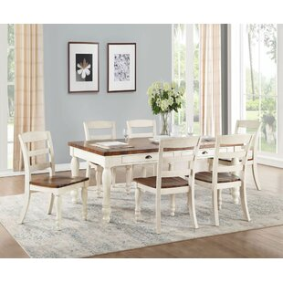 Liyuan 7 Pieces Dining Set August Grove