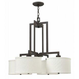 Hinkley Lighting Hampton 4 Light Drum Chandelier