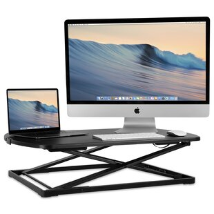 Edgehill Height Adjustable Standing Desk by Symple Stuff 2019 Coupon