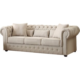 Darby Home Co Pearlie Chesterfield Sofa