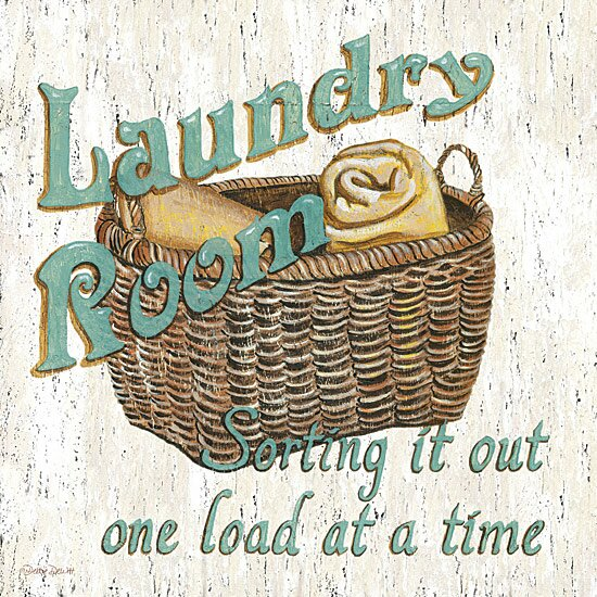 'Laundry Room' Graphic Art Print on Canvas