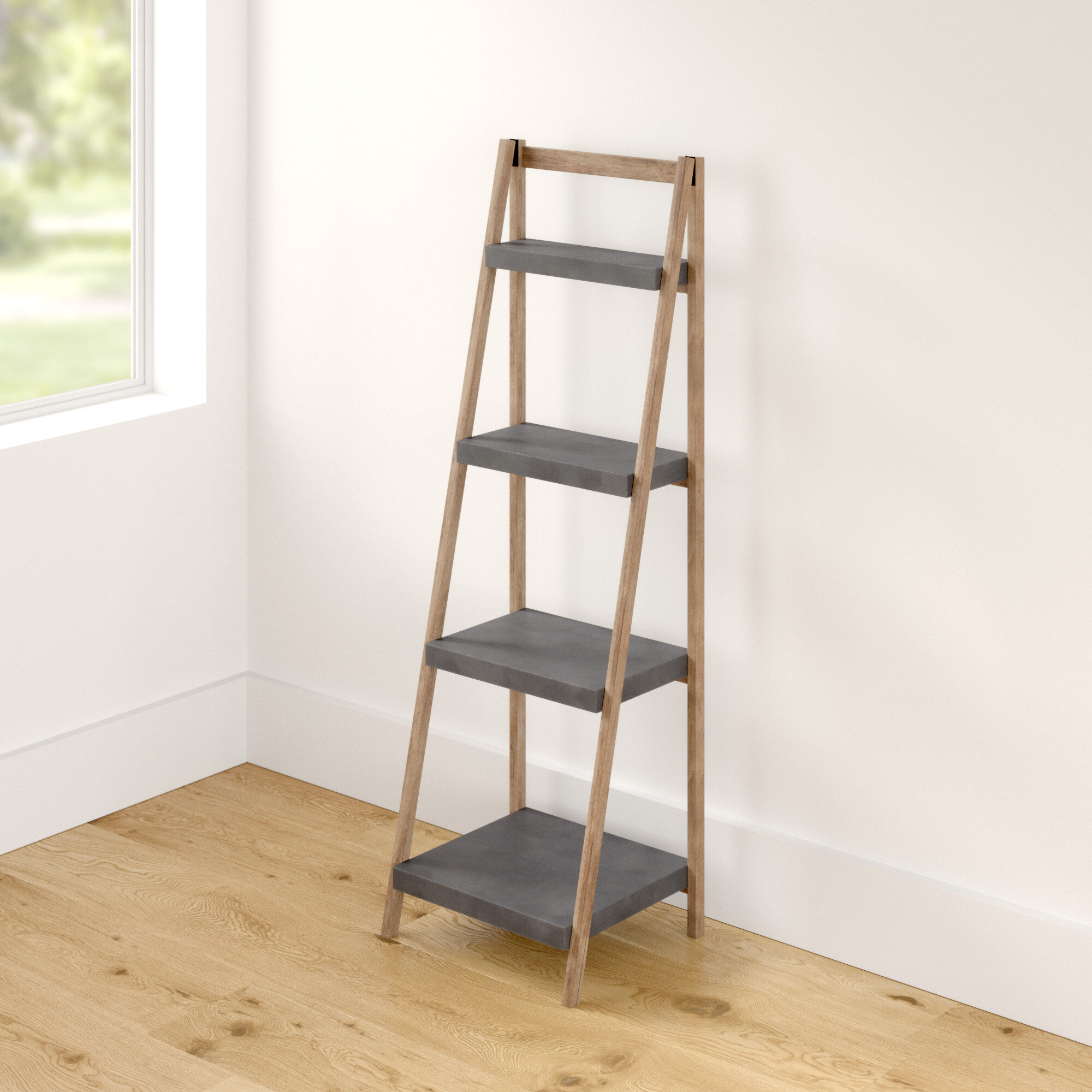 Zipcode Design Aurora Ladder Bookcase Reviews Wayfair Co Uk