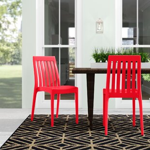 Mcgregor Stacking Patio Dining Chair (Set of 2)