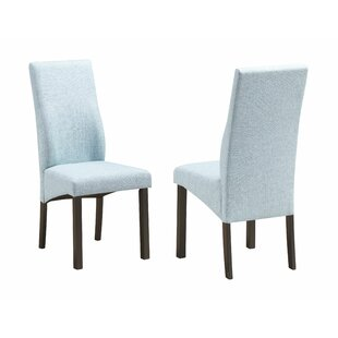 Nowak Upholstered Dining Chair (Set of 2) Charlton Home