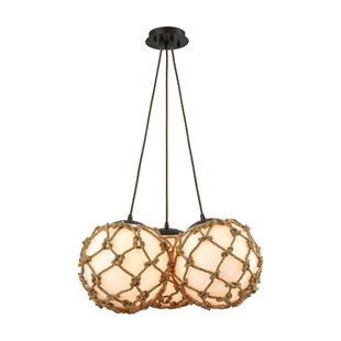 Bowdoin 3-Light Cluster Pendant by Bay Isle Home