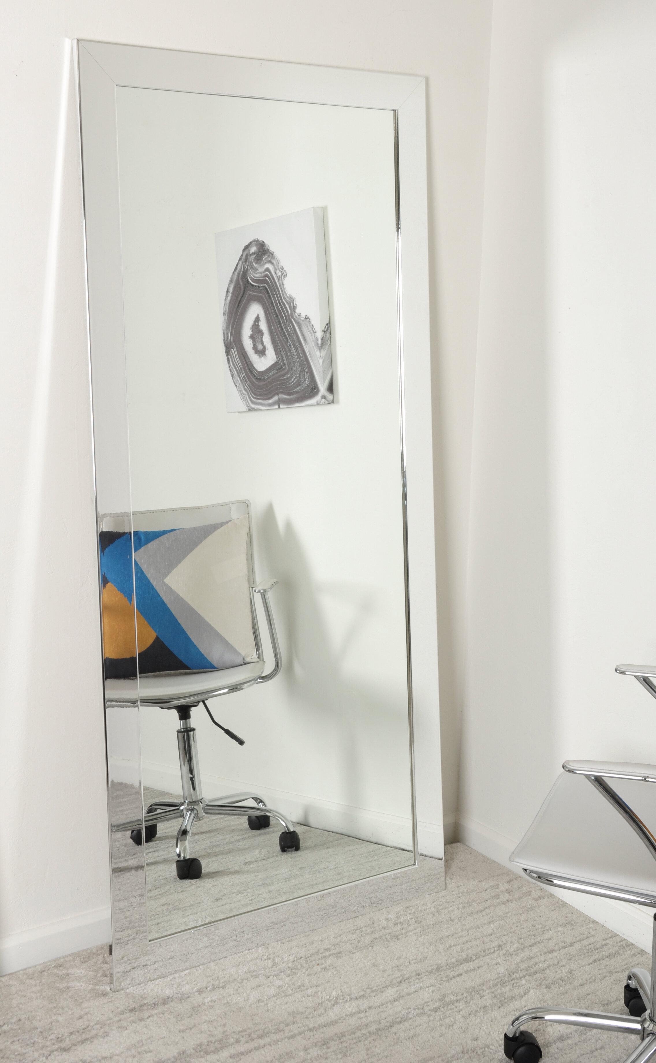 Orren Ellis Gennoveva Floor Accent Mirror Reviews Wayfair