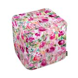 Oliver Gal Home Life in Wonderland Pouf by Oliver Gal