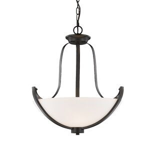 Winston Porter Whelan 3-Light Bowl Pendant