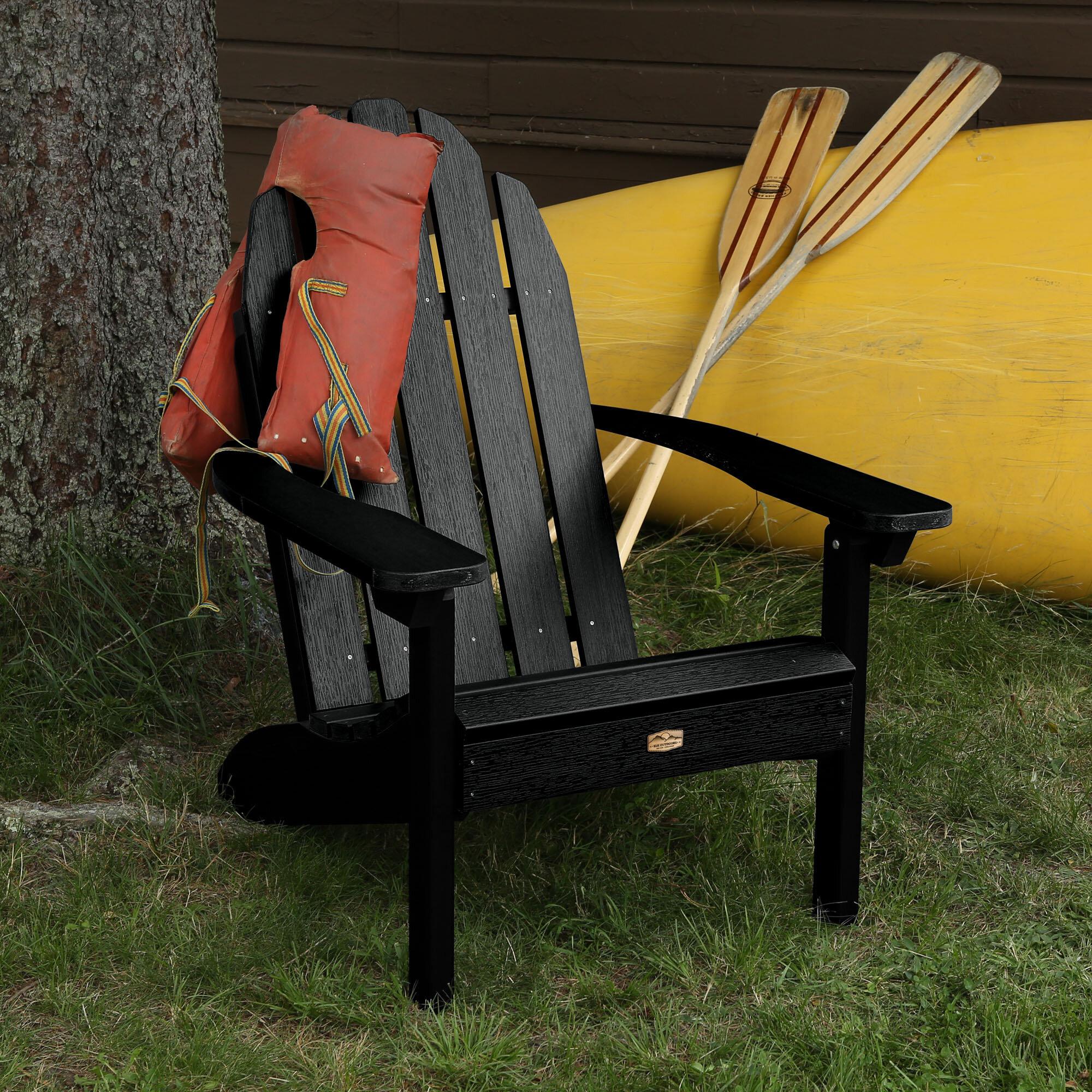 Hamptonburgh Essential Plastic Resin Adirondack Chair Reviews Joss Main