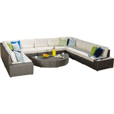 Mariscal 12 Piece Deep Seating Group with Cushions