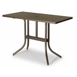 Searching for Aluminum Slat 60 inch  Rectangular Bar Table Price & Reviews