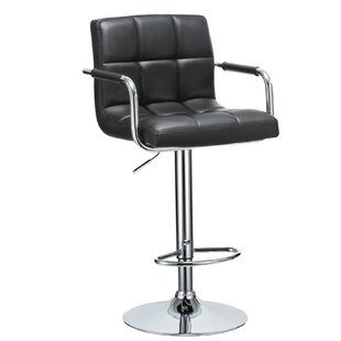 Hanson Height Adjustable Swivel Bar Stool By EU Porthos Home