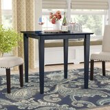 Geneseo Rubberwood Dining Table by Charlton Home®