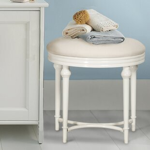Best Reviews Vanity Stool By Charlton Home