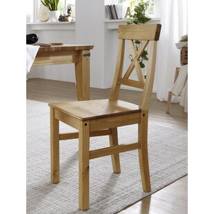 Edmondson Solid Wood Dining Chair (Set Of 2) By Alpen Home