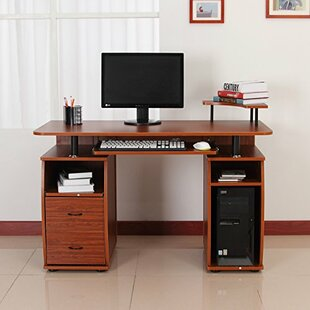 Gaul Computer Desk by Ebern Designs Great price