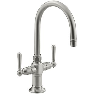 Hirisesingle-Hole Bar Sink Faucet with Lever Handles