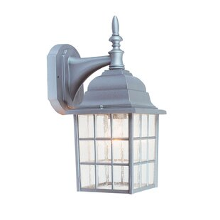 Design House Earl Gray Outdoor Wall Lantern