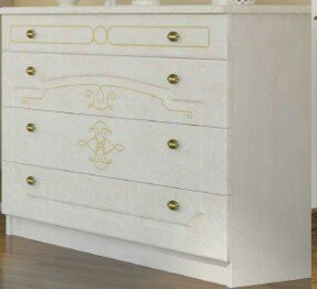 Melinda 4 Drawer Standard Dresser/Chest