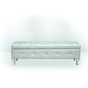 BestMasterFurniture Upholstered Storage B..