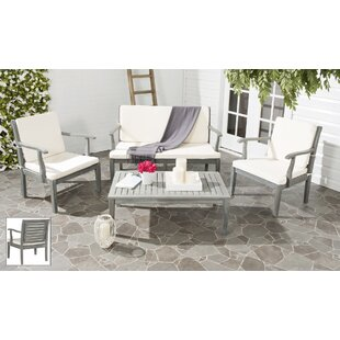 Crewkerne 4 Piece Sofa Set with Cushions