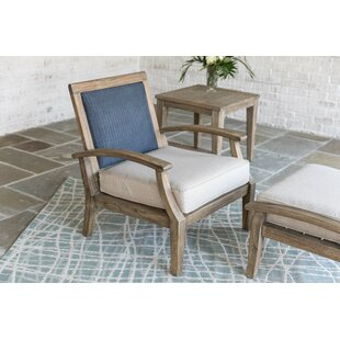 Lloyd Flanders Wildwood Teak Patio Chair ..