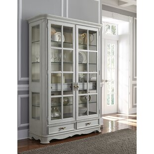Artrip Painted Curio Cabinet