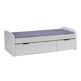 Mia European Single Platform Bed With Storage By Ebern Designs
