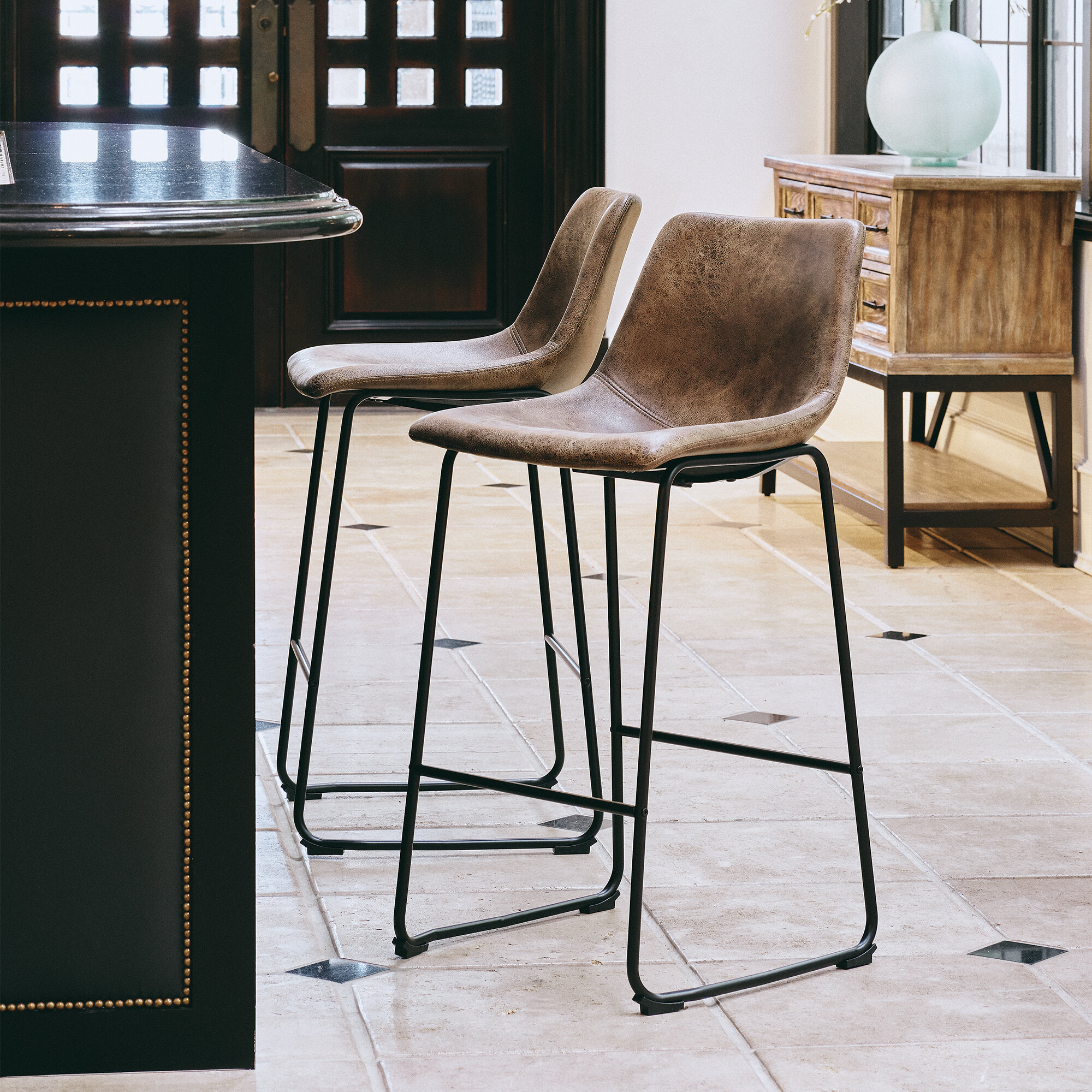 Black Bar Stools Counter Stools You Ll Love In 2020 Wayfair