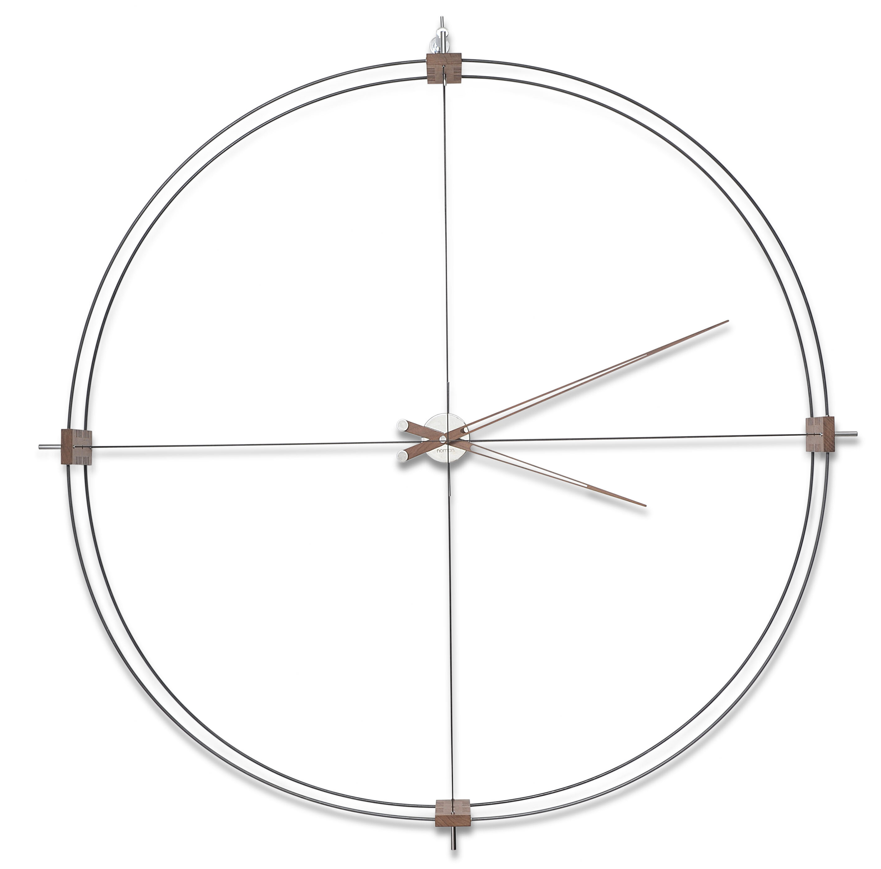 Nomon Oversized Delmori 51 2 Wall Clock Wayfair Ca