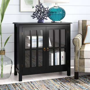Purdue with Wooden Top 2 Door Accent Cabinet by Beachcrest Home