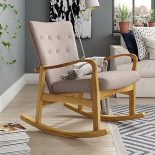 Where buy  Welke Rocking Chair by Brayden Studio Reviews (2019) & Buyer's Guide