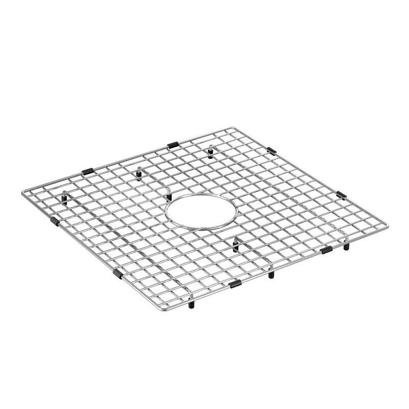 Moen 18 X 18 Stainless Steel Bottom Sink Grid Wayfair