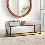 Jaden Faux Leather Bench by Foundstone™