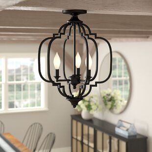 Wingo 3-Light Semi Flush Mount by Gracie Oaks