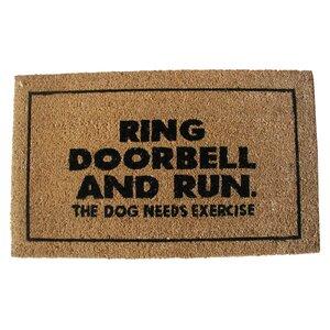Bruhn Ring Door Bell Doormat