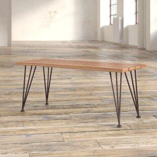 Trent Austin Design Guyapi Indoor Acacia Wood Coffee Table