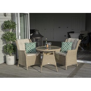 Rysing 2 Seater Bistro Set With Cushions By Sol 72 Outdoor
