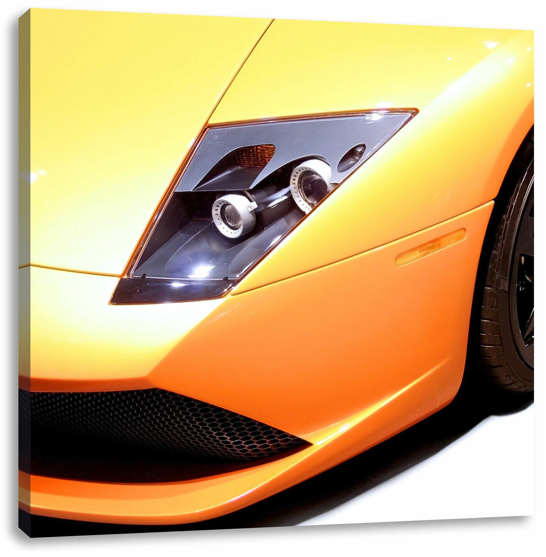 East Urban Home Lamborghini Art Print On Canvas Wayfair Co Uk