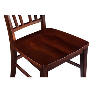 Red Barrel Studio Balic Solid Wood Dining Chair (Set of 2)
