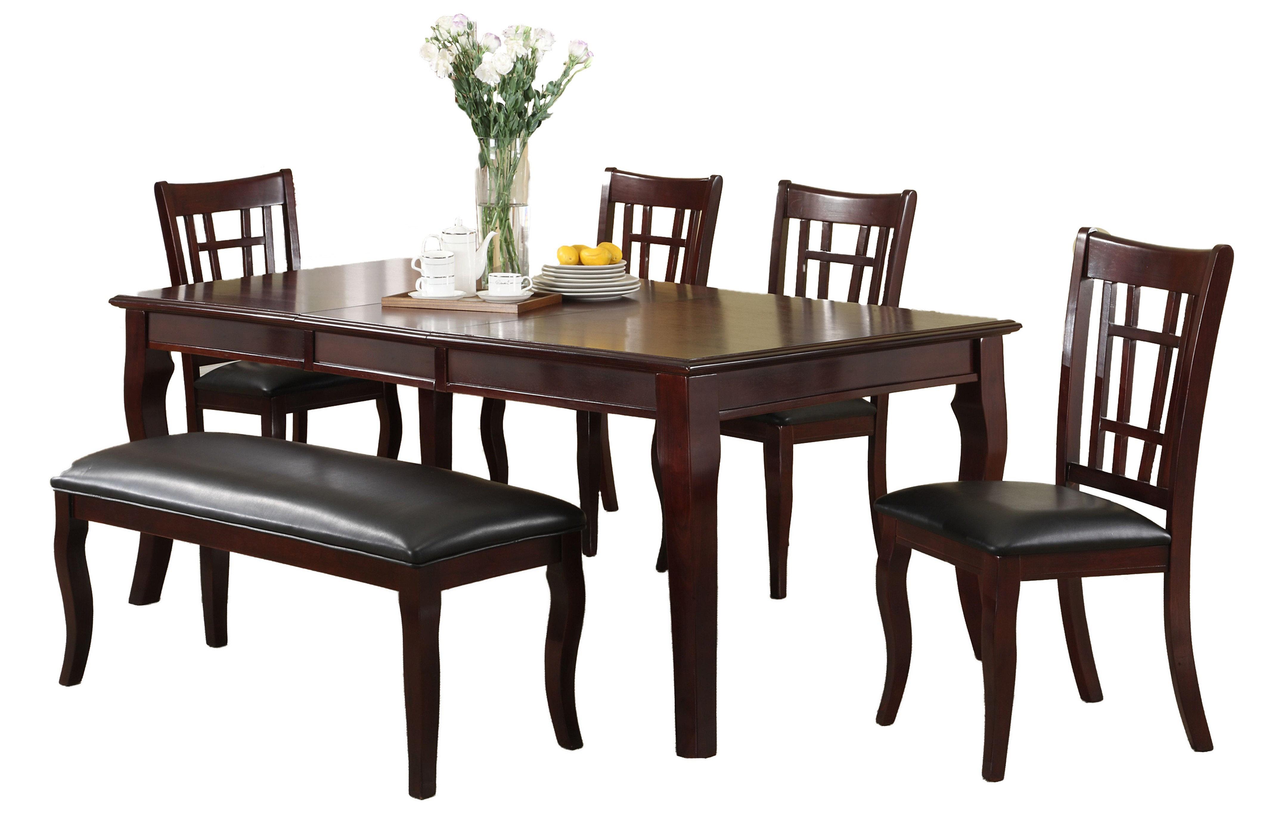 Winston Porter Derek Solid Wood Dining Table Wayfair
