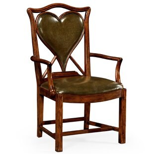 Genuine Leather Upholstered Dining Chair Jonathan Charles Fine Furniture