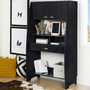 Compare Reevo Armoire Desk with Hutch By South Shore