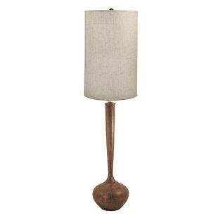 Clearance Mabel Wooden Tulip 64 LED Floor Lamp By Corrigan Studio