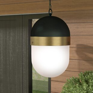 Latitude Run Needham 3-Light LED Outdoor Pendant
